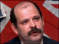 David Ervine pictured in 1998