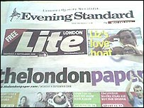 Lite and londonpaper