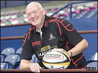 New Edinburgh head coach Lynn Howells