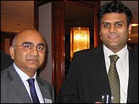 Arjan (left) and Mitesh Vekaria