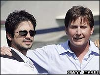 Freddy Rodriguez and Emilio Estevez