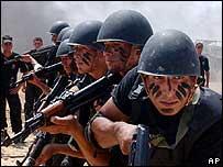 Palestinian presidential guard