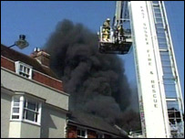 Lewes fire