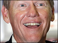 Alan Mulally, Ford's new chief executive