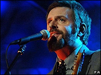 Scritti Politti's lead singer, Green Gartside