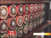 The Turing Bombe machine
