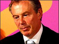 Tony Blair in York on 5 September, 2006