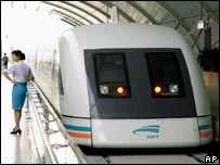 Shanghai's maglev train