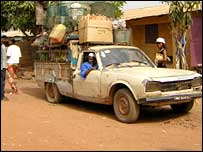 Old truck in Guinea