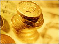 Фунтовые монеты