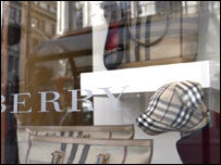 Burberry shop front