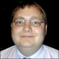 Stefan Asmundsson.  Image: BBC