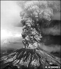 The May 1980 eruption of Mount St Helens (R.Kimmel)