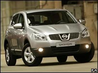 Nissan's new Qashqai model