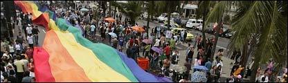 Una marcha del orgullo gay