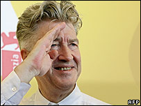 David Lynch at the premiere of his new film