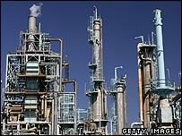 US oil refinery operated by BP