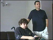 Mark (r) and Stan Devlin