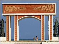 The Gateway of No Return in Benin