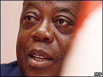 Prime Minister Charles Konan Banny