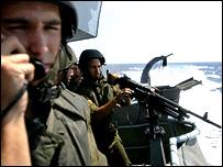 قوات بحرية إسرائيلية قبالة سواحل لبنان