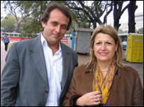 Alejandro Badanian y Silvia Cabeza
