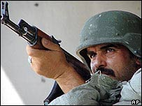 Iraqi army soldier