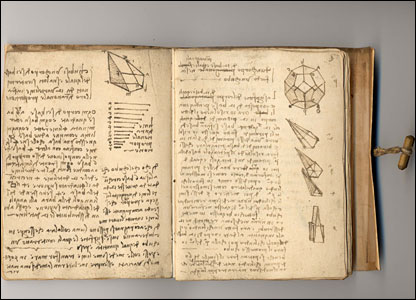 Determining the volume of regular and irregular solids (c.1505).