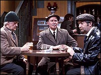 Characters from the 1970s BBC comedy Last of the Summer Wine