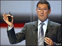 Alcatel boss Serge Tchuruk