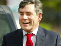 Gordon Brown in Glasgow