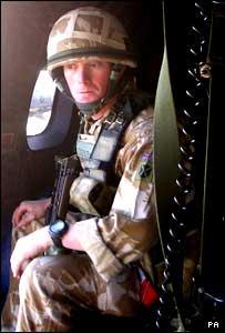 Lance Corporal Trevor Coult (pic MoD/PA)