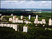 Star City  Image: Nasa