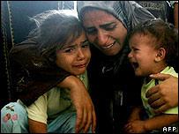 Family mourns girl killed in Israeli raid in northern Gaza