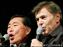 George Takei and Walter Koenig