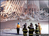 Ground Zero in 2001