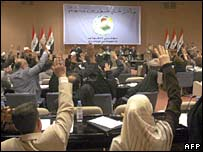 Iraqi parliament session