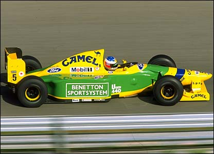 Michael Schumacher wins in Portugal 1993