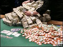 Poker tournament winnings