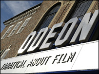 Odeon cinema in Surrey