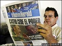A reader of Miami's El Nuevo Herald