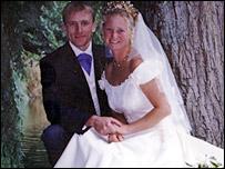 Andrew Harvey and wife Katie