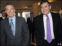 Tony Blair, Gordon Brown