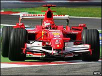 Michael Schumacher en Monza