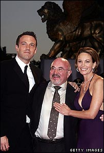 Ben Affleck, Bob Hoskins and Diane Lane in Venice
