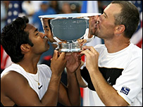 Leander Paes and Martin Damm