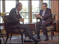 Andrew Marr, Gordon Brown