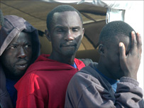 Three African immigrants