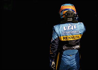 Renault's Fernando Alsonso