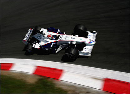 Robert Kubica of BMW Sauber